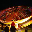 Spinning lights, Albany Show by BigAndRed