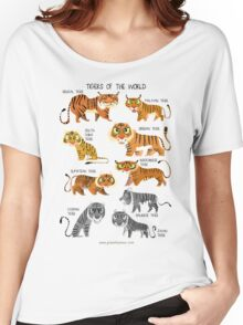Tigers of the World Women's Relaxed Fit T-Shirt
