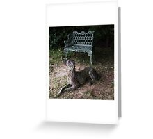 Iron Rover Gothic Greeting Card