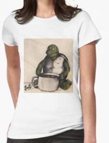 Girlfriend's turtle Womens Fitted T-Shirt