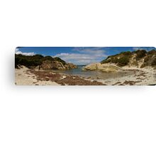 small harbour panorama, Western Australia Canvas Print