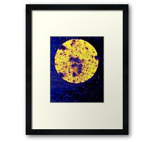 On his Way to the Casino, Harry saw a Giant #3 on the Face of the Moon Framed Print