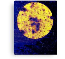 On his Way to the Casino, Harry saw a Giant #3 on the Face of the Moon Canvas Print
