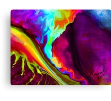 Lava Rush Canvas Print