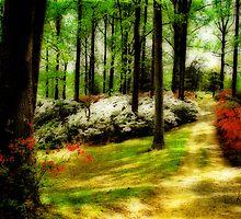 Springtime Among Azaleas by Lois  Bryan