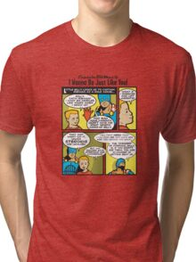 Steroids, Ahoy! -- Captain RibMan Tri-blend T-Shirt