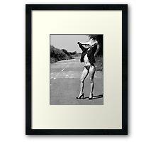 Hitchhiker?? Framed Print