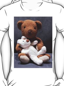 Teddy bear card/gifts/t-shirt-Psalm 145:17 T-Shirt