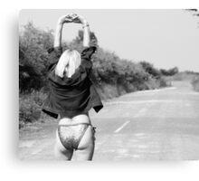 Hitchhiker??003 Canvas Print