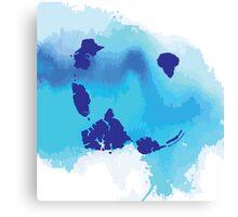 JURASSIC BLUE Canvas Print