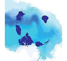 JURASSIC BLUE Photographic Print