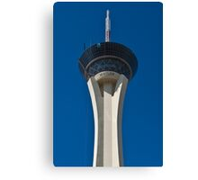 Stratosphere Hotel and Casino in Las Vegas, Nevada Canvas Print