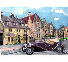 Broadway High Street the Lygon Arms Photographic Print