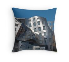 Tall shot Cleveland Clinic Brain Center in downtown Las Vegas, Nevada Throw Pillow