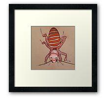 Doodle Bug Framed Print
