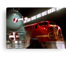 Santa Fe Streamliners Canvas Print