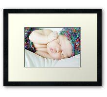 Sweet slumber Framed Print