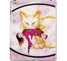 Not your China Doll- gold and pink iPad Case/Skin