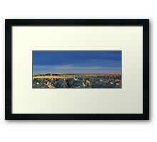 Western Rim of Mako Sica aka The Badlands Framed Print