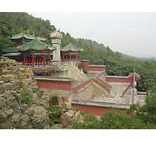 Chinese Scape Photographic Print