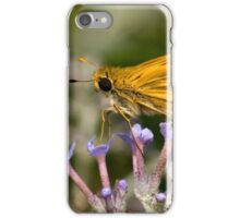 Fiery Skipper (Hylepbila phyleus) iPhone Case/Skin