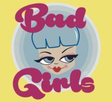 Bad Girls all around the world! Kids Tee