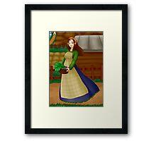 Celia Framed Print