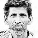Indian Man by Marlies van Kampen