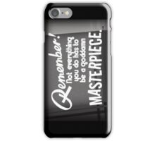 Motivational No. 1 iPhone Case/Skin