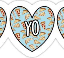 Treat Yo Self Hearts Sticker