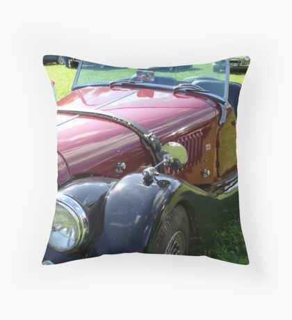 The Full Morgan for Barry Throw Pillow