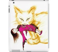 Not your China Doll the golden cat iPad Case/Skin