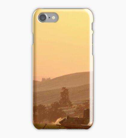 SUNSET OVER EASTERN OREGON iPhone Case/Skin