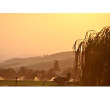 SUNSET OVER EASTERN OREGON Photographic Print