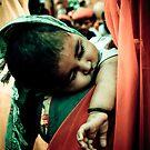 Sleepy child by Marlies van Kampen