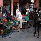 Fresh Vegetables Marrakesh Style.  by romaro