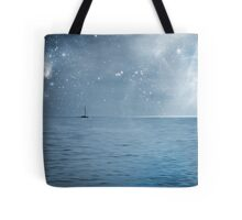 moonlight over the caribbean  Tote Bag