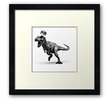 T-Rex Crown Framed Print