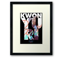 Girls' Generation (SNSD) Yuri 'Party' Framed Print