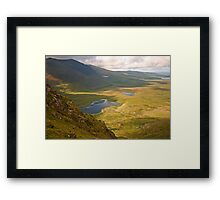 The Conor Pass Framed Print