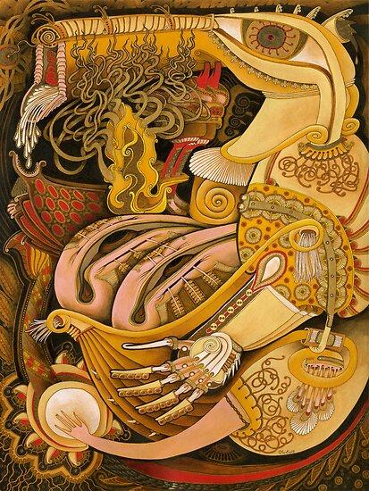 Purse Content by Yuliya Art