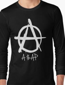 A$AP white Long Sleeve T-Shirt