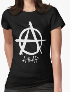 A$AP white Womens Fitted T-Shirt