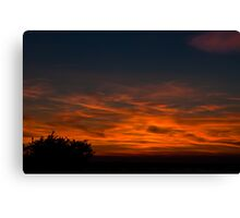 Sunset at Wigwam Canvas Print