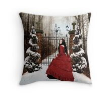 Little Red: Into the Woods Throw Pillow