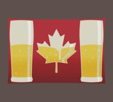 Canada Flag Beer Kids Clothes