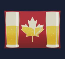 Canada Flag Beer One Piece - Long Sleeve