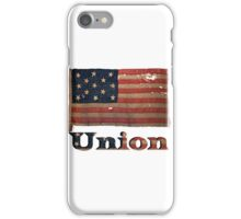 Vintage Union Civil War USA Flag iPhone Case/Skin