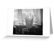 Sheer Glass Greeting Card