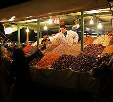 Dried Fruit Vendor Marrakesh. by romaro